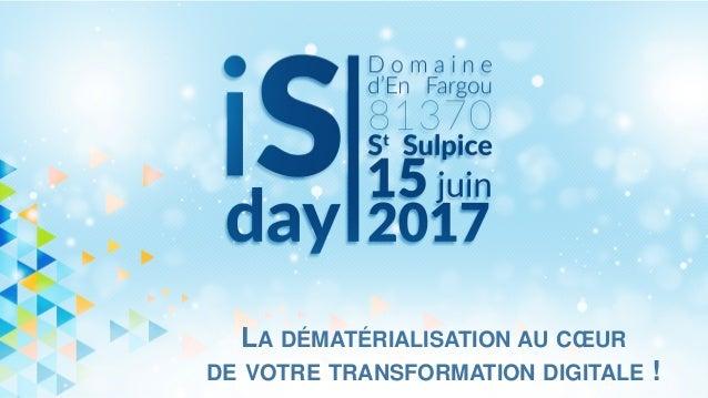 LA DÉMATÉRIALISATION AU CŒUR DE VOTRE TRANSFORMATION DIGITALE !