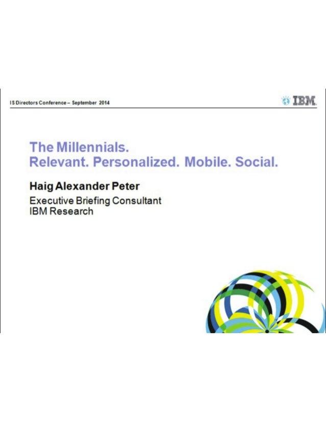 Presentation_ISDC 2014_Haig Alexander Peter_IBM