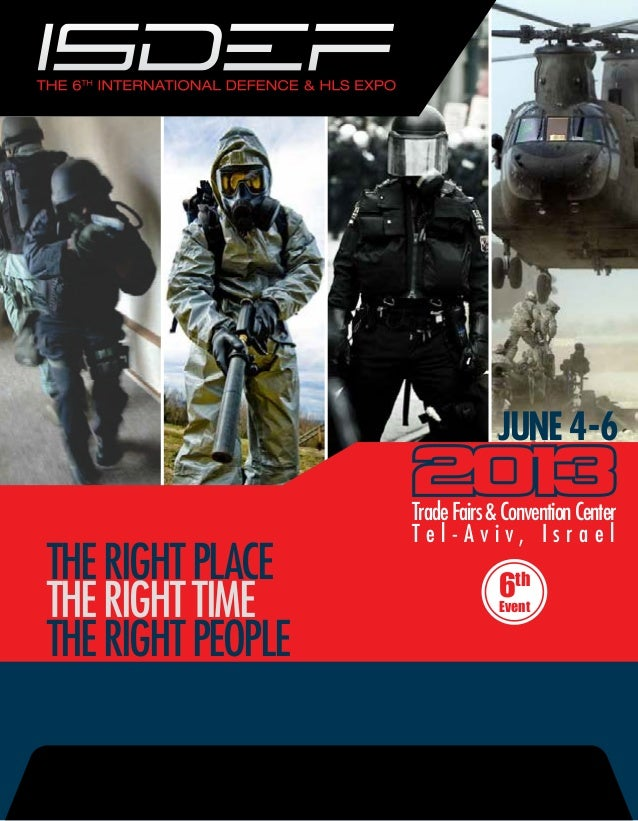 JUNE 4-6                       Trade Fairs & Convention Center                       Tel-Aviv, IsraelTHE RIGHT PLACE      ...