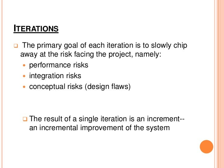 INCEPTION Built a good understanding of the requirements  and scope of the system. Initial requirements capture Cost Be...