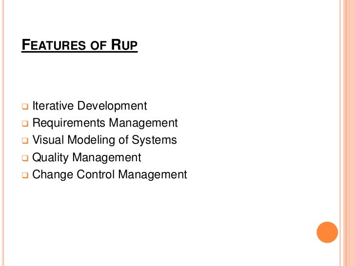 PHASES OF RUP