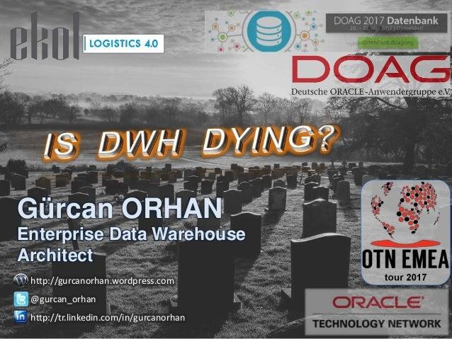 Gürcan ORHAN Enterprise Data Warehouse Architect http://gurcanorhan.wordpress.com @gurcan_orhan http://tr.linkedin.com/in/...