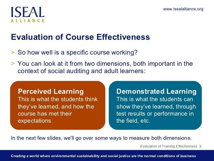 9:Evaluation of Training Effectiveness Slide 3