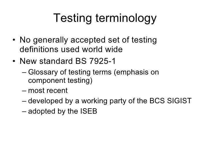 iseb foundation certificate in software testing pdf