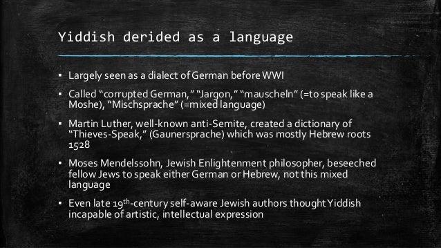 Is Ebonics the New Yiddish? Language Politics in ...