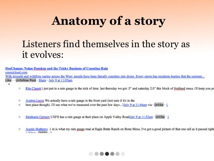 I Seechange Anatomy Of A Story