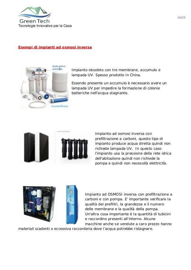 I segreti del trattamento acqua domestico