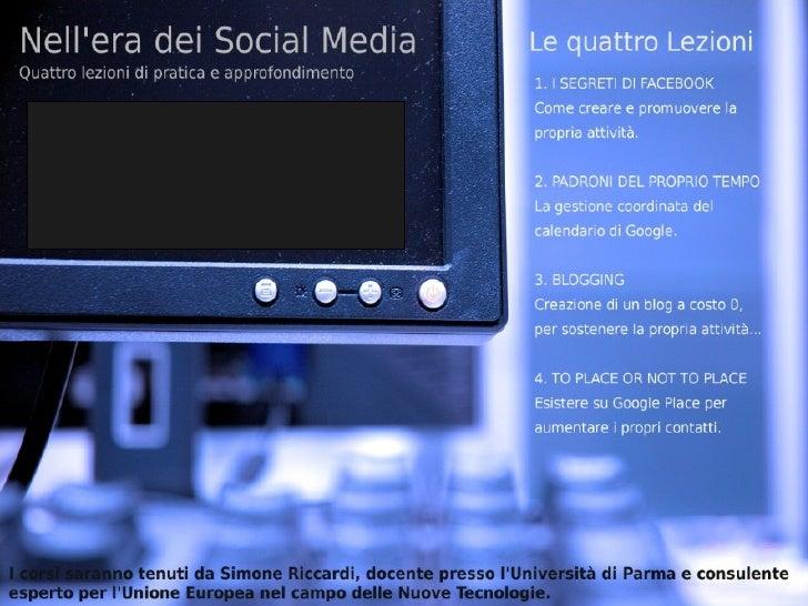 Gli strumenti per creare l'immagine        digitale della propria azienda:• Sito web• Networks professionali  (B&B in Ital...