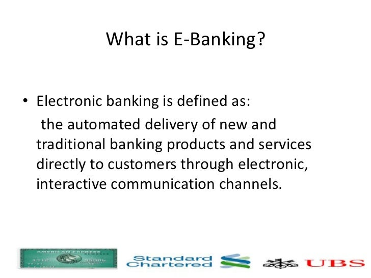 e banking assignment