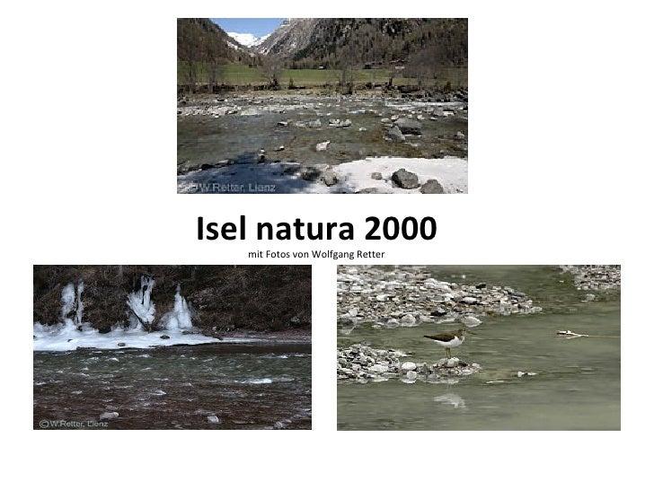 Isel natura 2000   mit Fotos von Wolfgang Retter