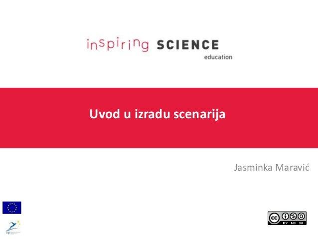 Uvod u izradu scenarija Jasminka Maravić