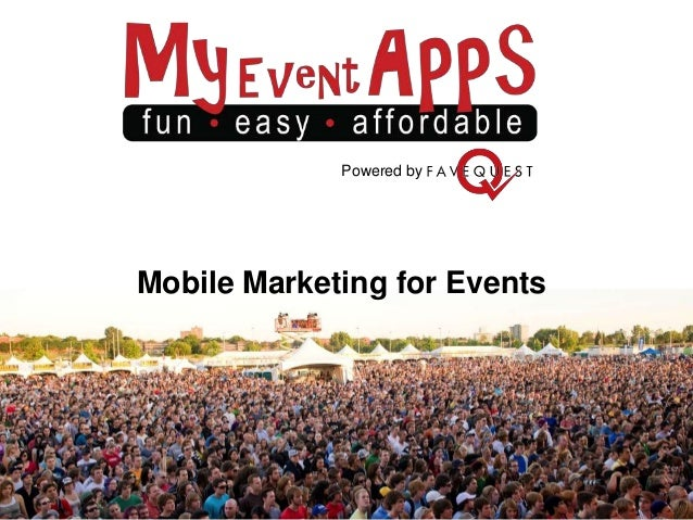 Powered byMobile Marketing for Events