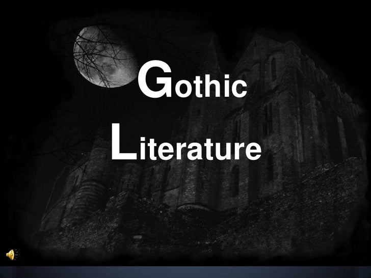 the gothic horror essay