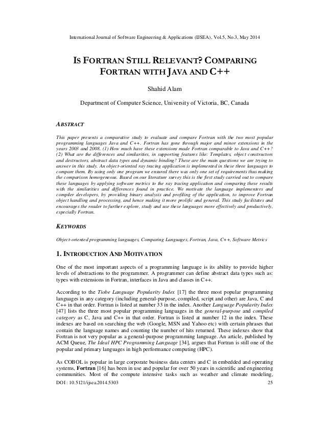 International Journal of Software Engineering & Applications (IJSEA), Vol.5, No.3, May 2014 DOI : 10.5121/ijsea.2014.5303 ...