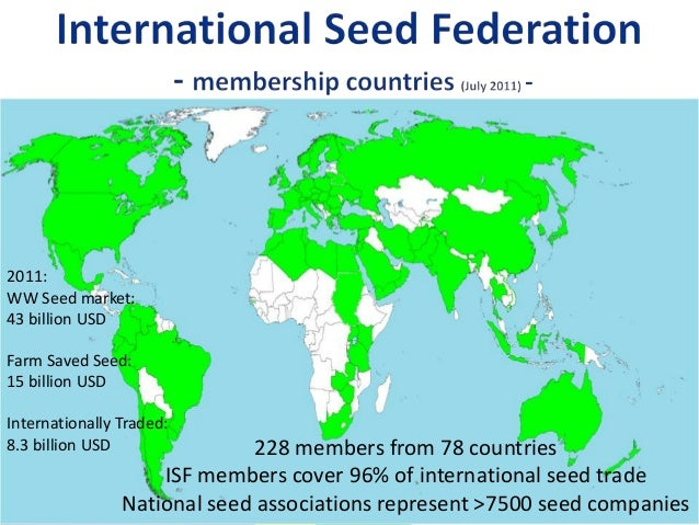Isf tree and shrub seed group 2013 Slide 2