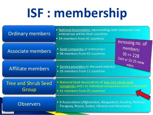 Isf tree and shrub seed group 2013 Slide 3