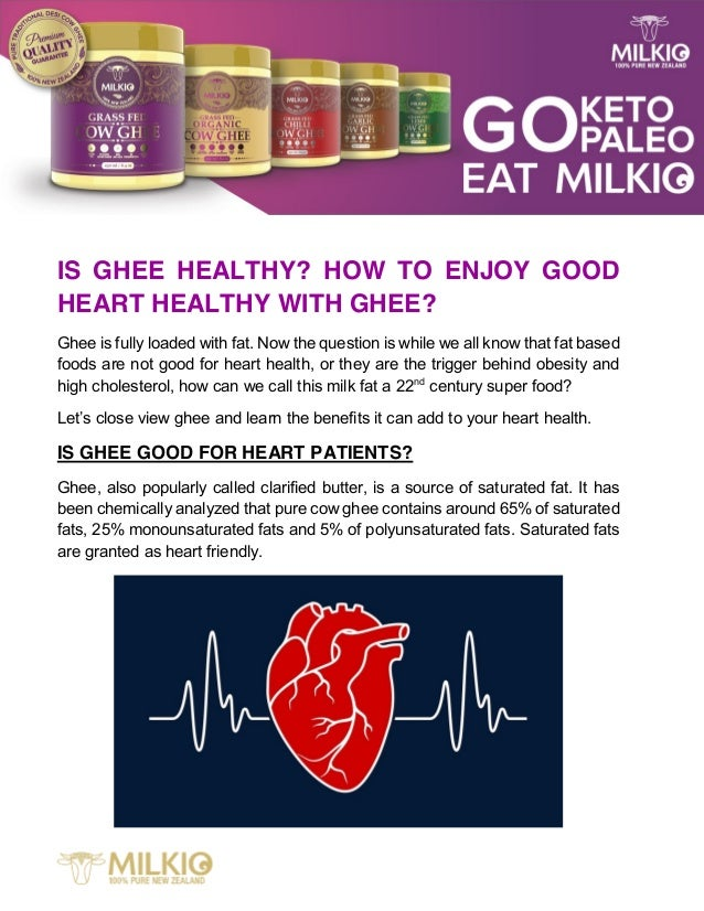 IS GHEE HEALTHY? HOW TO ENJOY GOOD HEART HEALTHY WITH GHEE? Ghee is fully loaded with fat. Now the question is while we al...