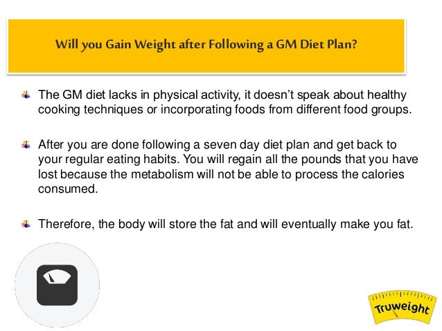 Gm Diet Programme Side Effects Does The Gm Diet Plan Really Work
