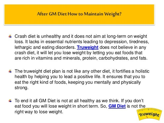 Gm Diet Wonder Soup – How It works?