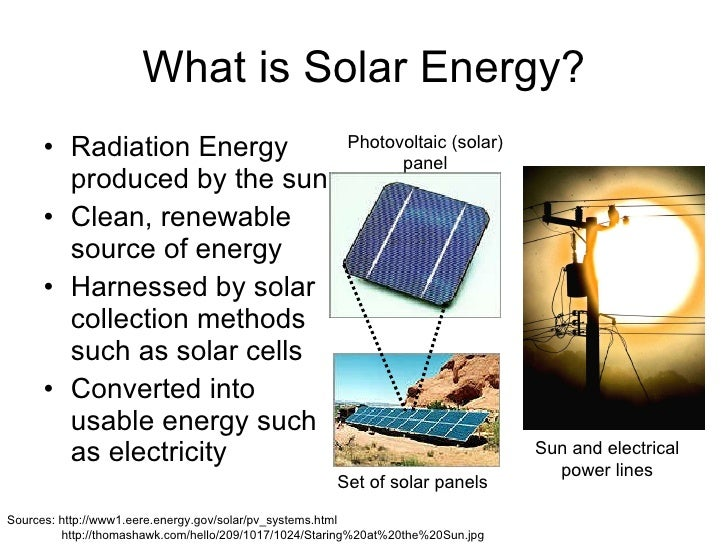 Presentation on solar energy wind energy and nuclear energy for Solar energy information for students