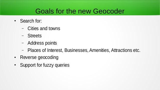 OpenStreetMap Geocoder Based on Solr