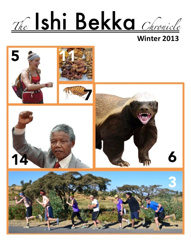 The  5  !!!!!  Ishi Bekka  Chronicle  Winter'2013' !  11 7  14  6 !  3