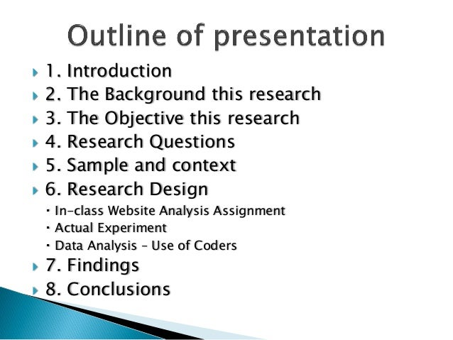  1. Introduction 2. The Background this research 3. The Objective this research 4. Research Questions 5. Sample and c...