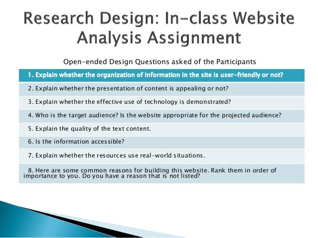 1. Explain whether the organization of information in the site is user-friendly or not?2. Explain whether the presentation...