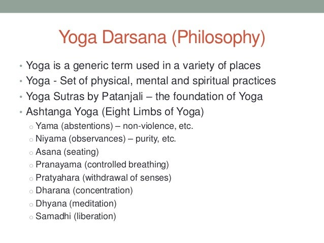 an introduction to the manings and the mental system of yoga The meaning and purpose of yoga by  we turn away from preoccupation with external acquisition and seek to stop all inharmonious or negative mental.