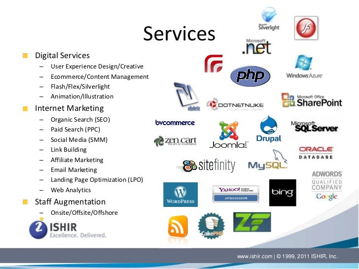 ISHIR Offshore Software IT Services Company Profile Brochure