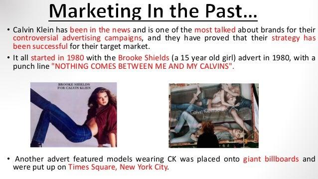 Target Customer for Calvin Klein  3. 615684843