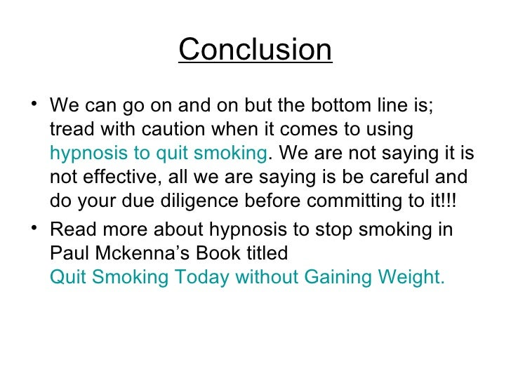 Quit smoking essay
