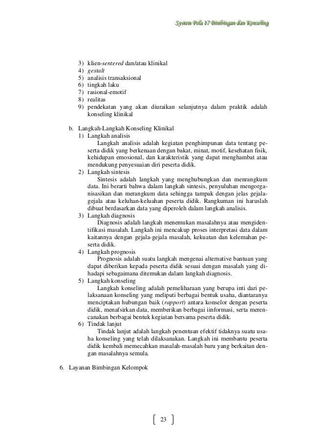 makalah bimbingan dan konseling