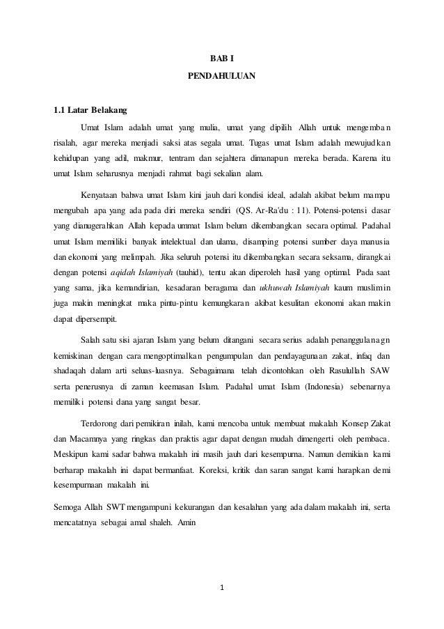 Tentang zakat pdf makalah