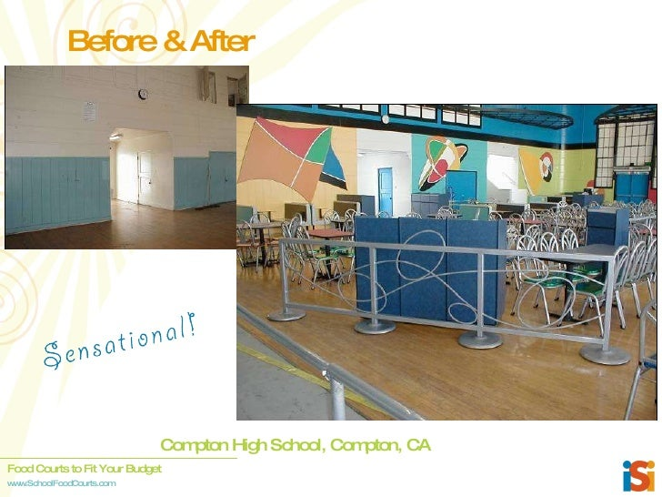 Compton High School, Compton, CA Before & After ...