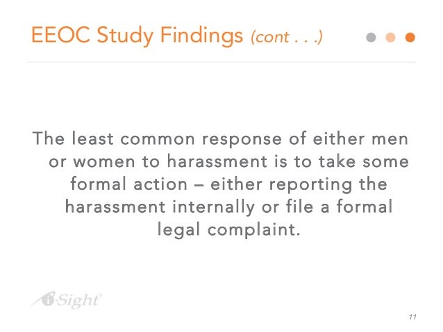 Eeoc guidelines on investigating sexual harassment