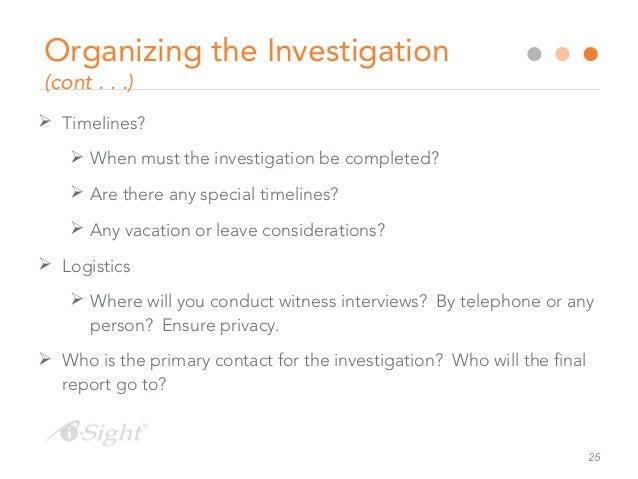 Sexual harassment formal complaint timeline
