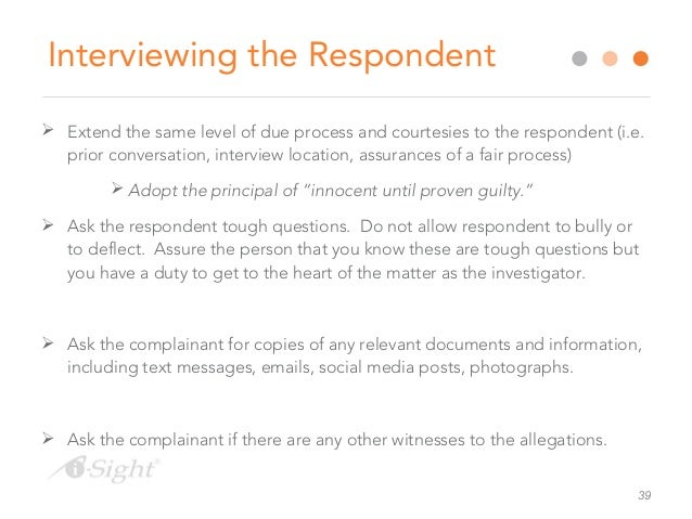 Best Practices for Conducting Sexual Harassment Investigations