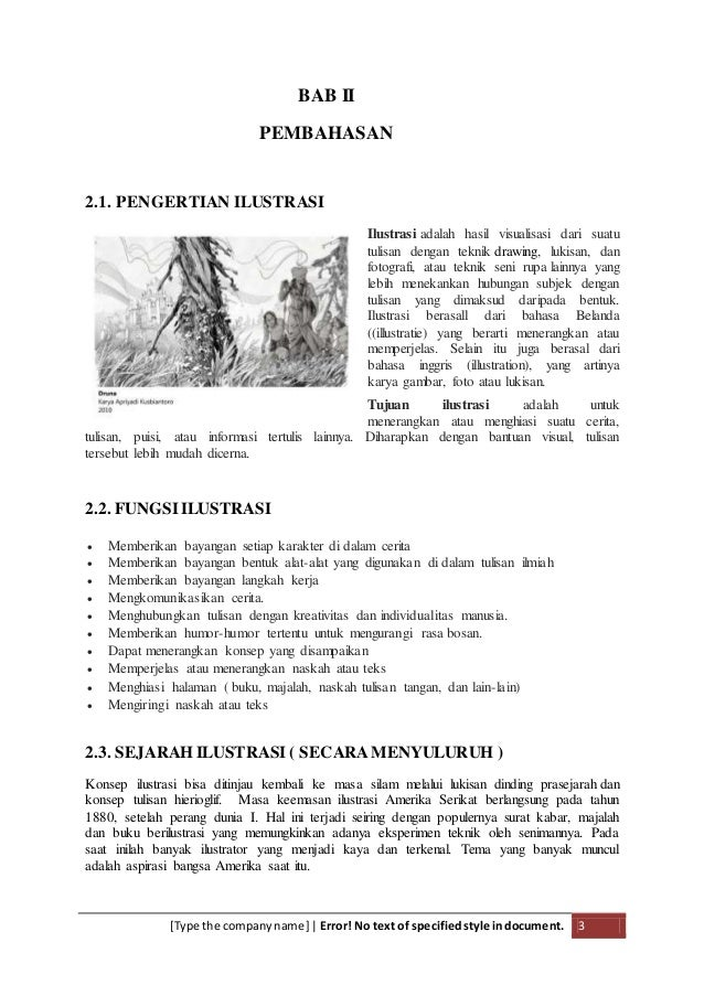 Makalah Seni Ilustrasi Slideshare Pdf Free Download
