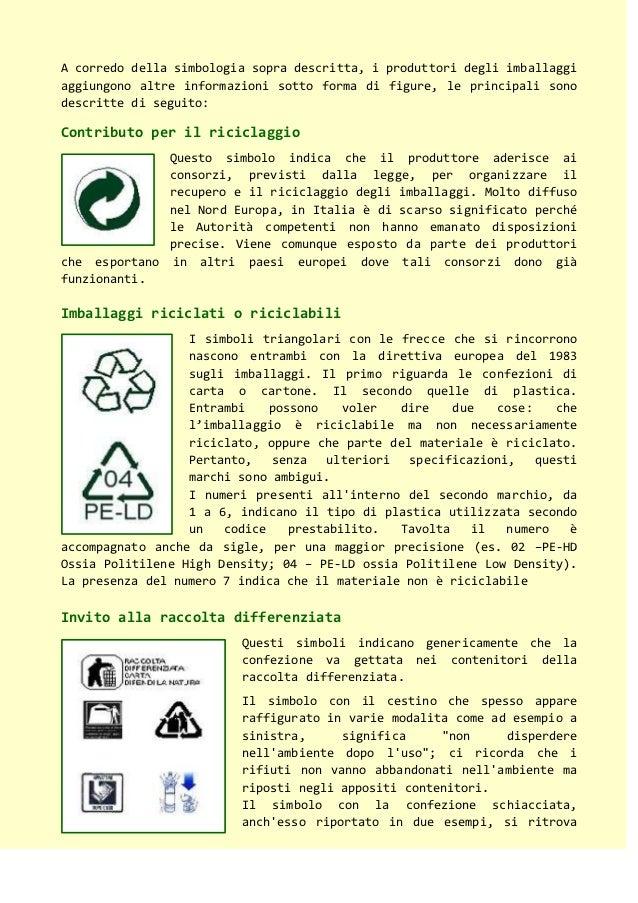 Ambiente i simboli che ci aiutano a separare i rifiuti - Contenitori rifiuti differenziati per casa ...