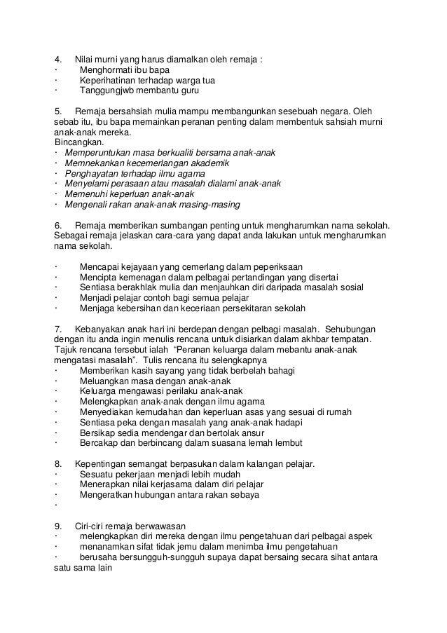 Isi penting karangan spm 2012
