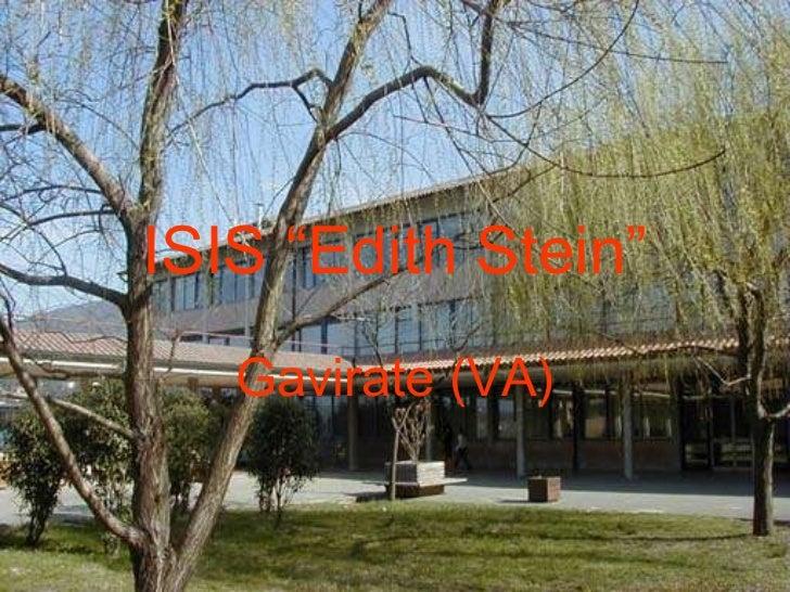 """ISIS """"Edith Stein"""" Gavirate (VA)"""