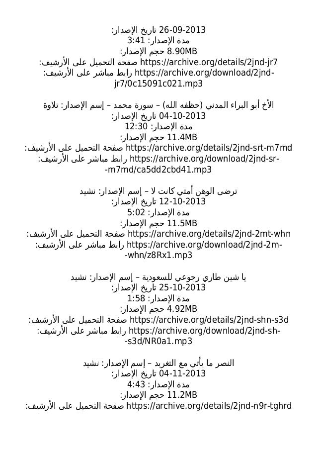ALL ISIS RELEASES FROM 15/6/2013 TO 21/6/2014 (Al Furqan,Al