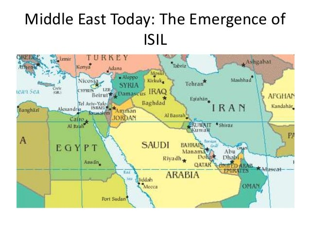 ISISISIL Is The Islamic State A Consequence Of US Foreign Policy - Map us foreign policy