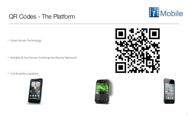 QR Codes - The Platform•   Smart Server Technology  •   Reliable & Fast Servers (u9lising th...