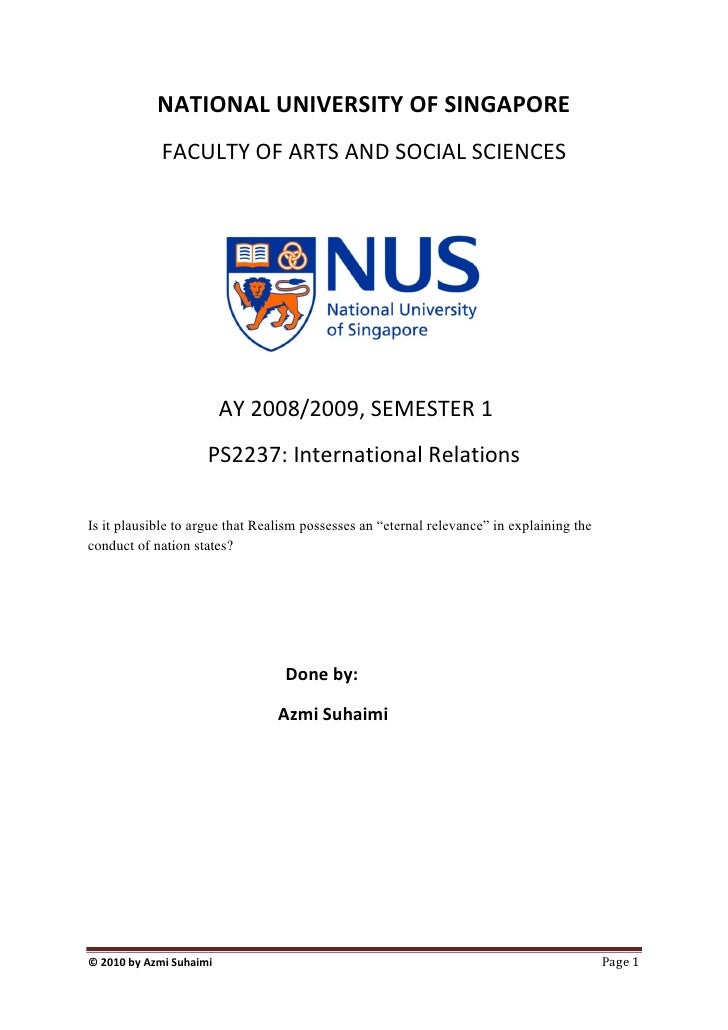 Nus phd thesis status