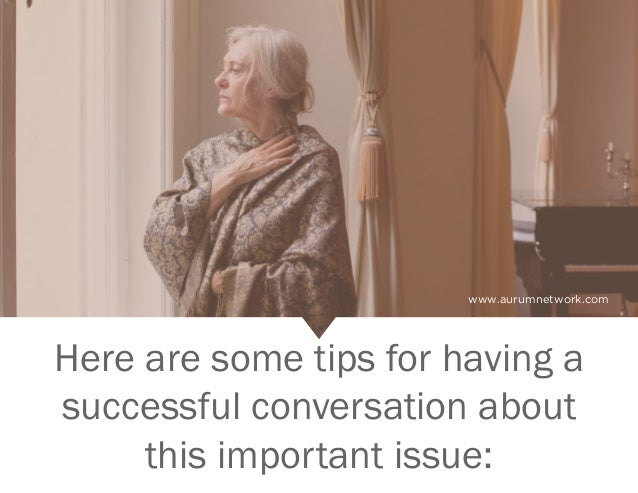 """Is It Time for the """"Talk"""" With Your Elder or Loved One? Slide 3"""