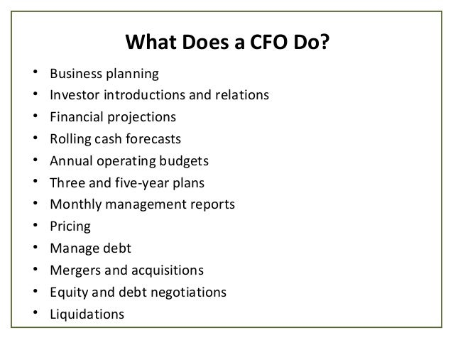 Is It Time to Hire a Startup CFO?