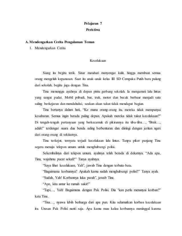 Materi Bahasa Indonesia Kelas 3
