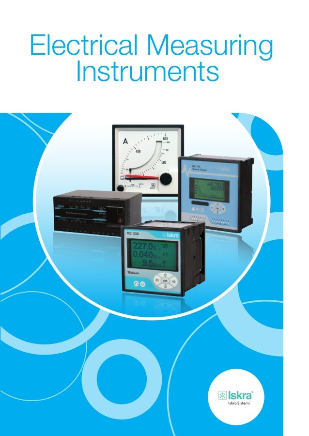 Electrical Measuring Instruments : Iskra electrical measuring instruments